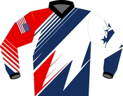 Red White and Blue Jersey